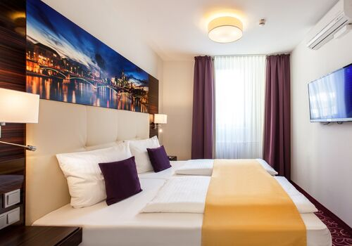 The Domicil Hotel Frankfurt City - Zentral am Frankfurt Hauptbahnhof - Messe - Stadtmitte